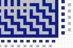 Pattern bottom border right - back