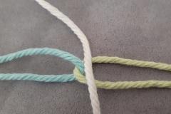 First warp thread