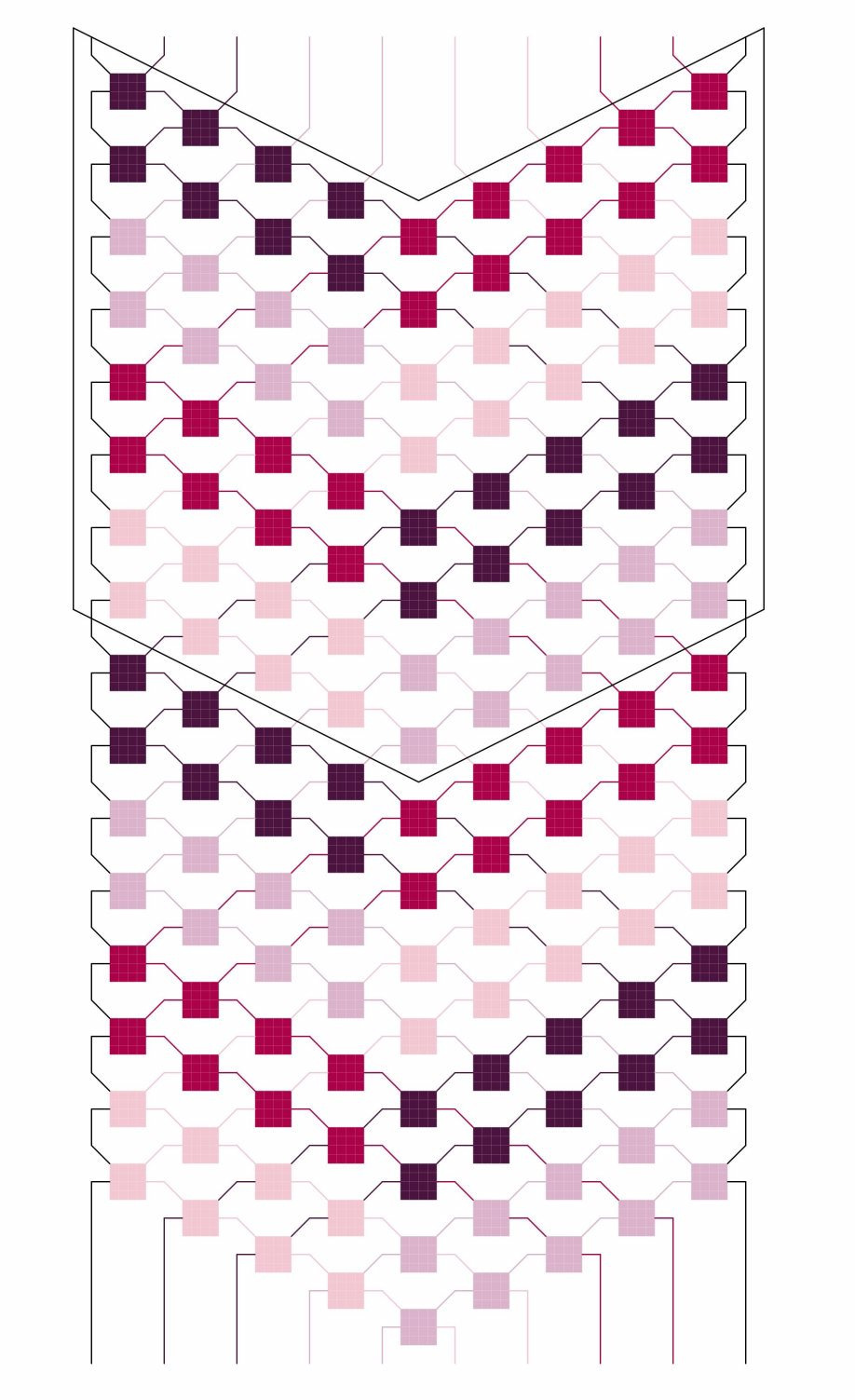 4-Colored stripes pattern
