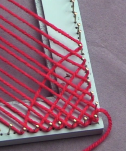 Wave after weaving