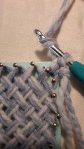 Yarn around the hook