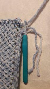 Yarn cut off